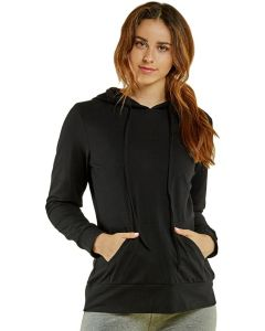 Sofra Women's Thin Cotton Pullover Hoodie Sweater