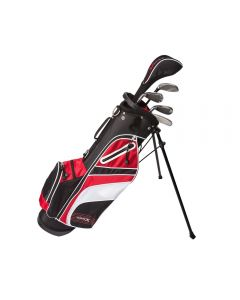 Tour X Size 2 5pc Jr Golf Set w Stand Bag LH