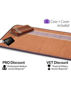 Infrared Therapy Amethyst Bio-Mat Professional + Amethyst Pillow – $100 discounted for the Veteran