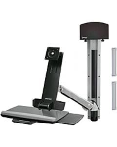 Ergotron StyleView 45-266-026 Sit-Stand Combo Arm for Notebook, Mouse, Keyboard, Flat Panel Monitor